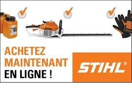 Boutique STIHL en ligne